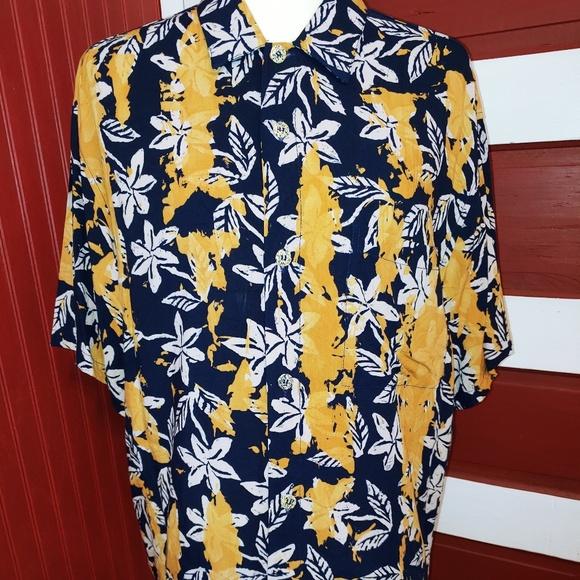 Jams World Other - Vintage Jams World Hawaiian Camp Shirt Kiluana M